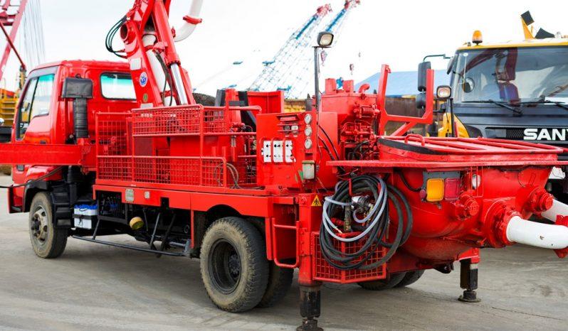 Isuzu – IHI Concrete Pump Truck 18mtr full