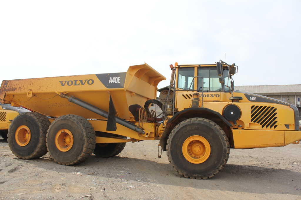 Volvo A40E Articulated Dump Truck | PT. Central Indo Machinery