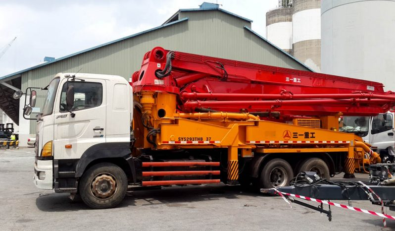 Hino – SANY Concrete Pump Truck (Pompa semen bekas) full