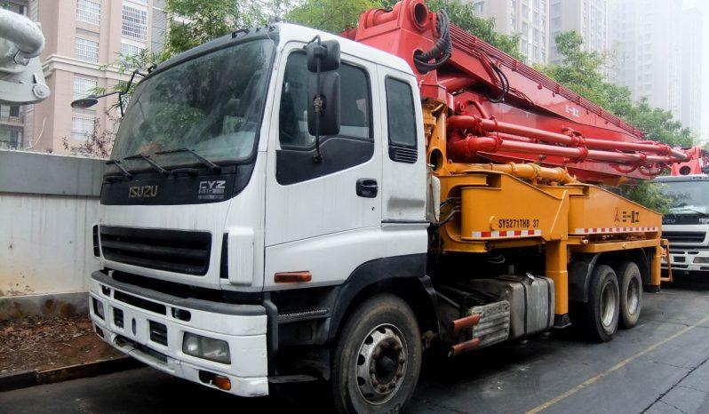 Isuzu – SANY Concrete Pump Truck – pompa semen bekas full