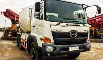 Hino FM260Ti Mixer Truck (molen) full