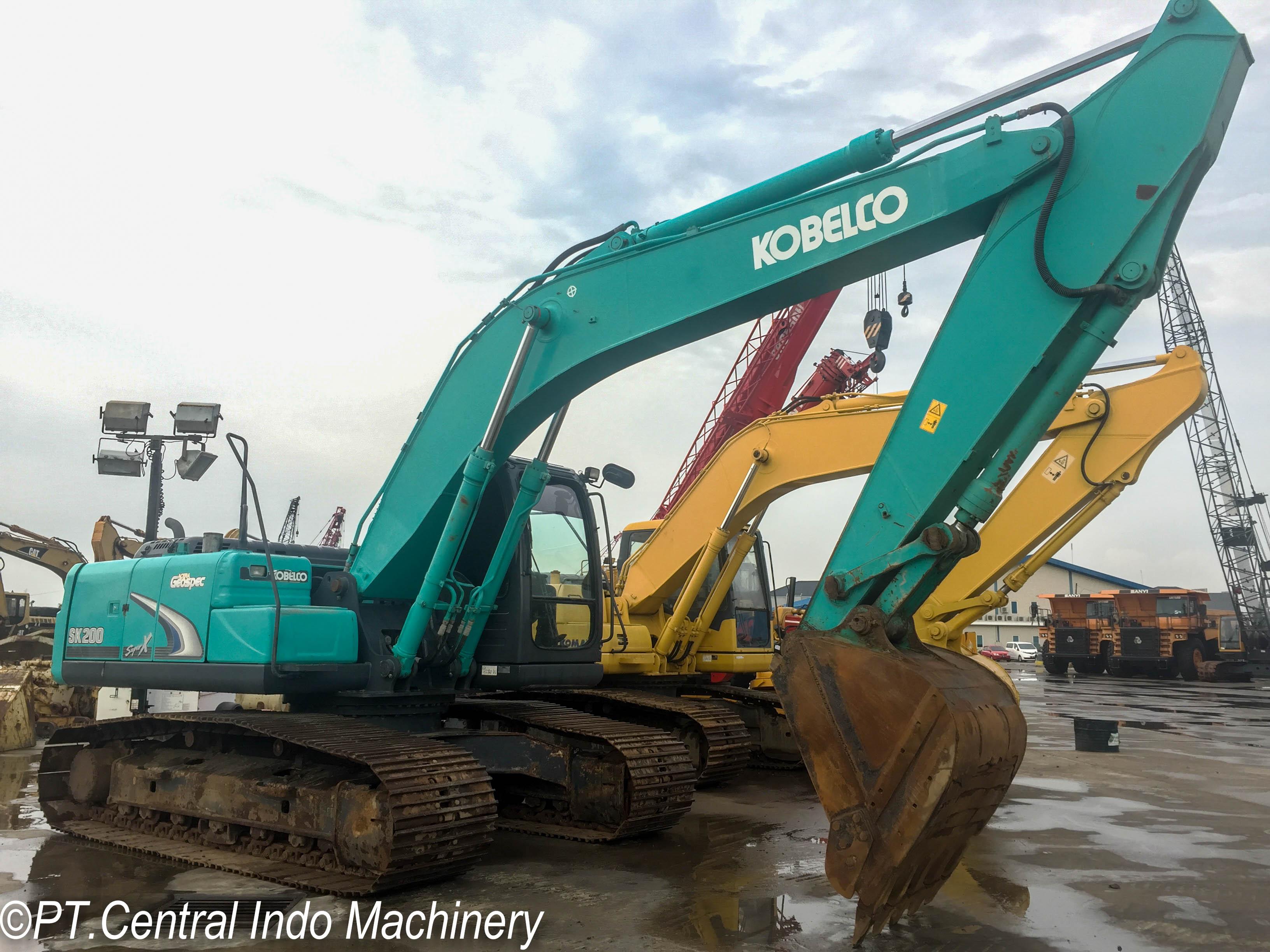 Jual Kobelco SK200-8 Geospec Hydraulic Excavator Beko
